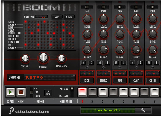 Drum Machine Plugin Pro Tools : boom pro tools virtual drum machine tutorials videos masters of music ~ Vivirlamusica.com Haus und Dekorationen