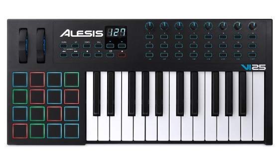 Alesis VI25 keyboard