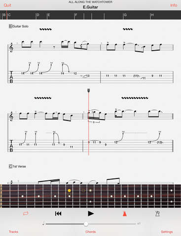 best guitar tabs chords apps for android and ios masters of music. Black Bedroom Furniture Sets. Home Design Ideas