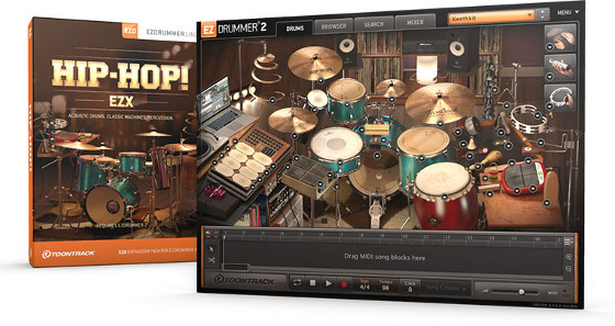 Hip-Hop! EZX Expansion for EZdrummer 2