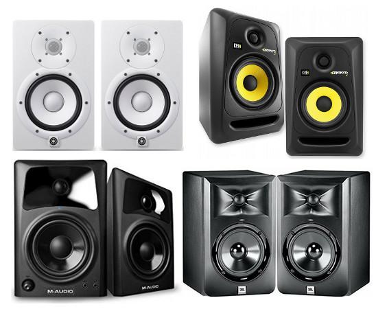 Pioneer RM-07 Professional Studio Monitor - Black - Long ... |Studio Speakers