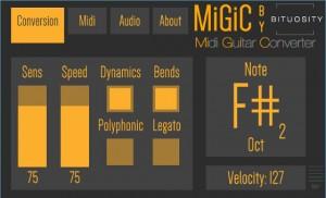 MiGiC Guitar MIDI Converter