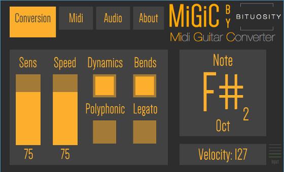 Free Plugin: MiGiC Converts Guitar to MIDI in Real Time