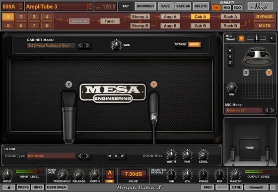mesa boogie amp sim