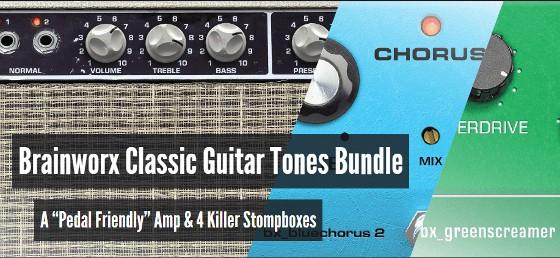 Brainworx Classic Guitar Tones Bundle