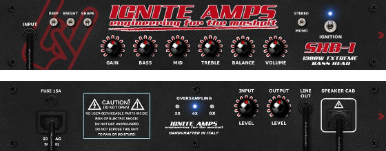 SHB-1 by Ignite Amps
