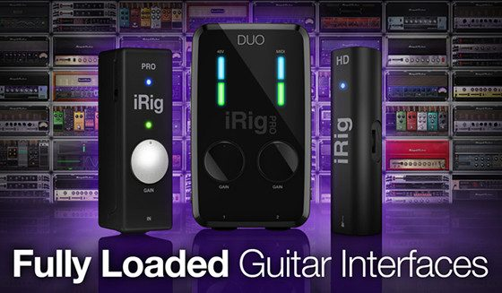 Get AmpliTube 4 Deluxe for Free with IK Guitar Interfaces