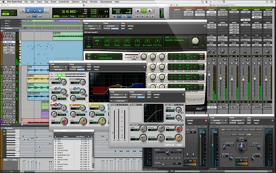 virtual instruments pro tools first