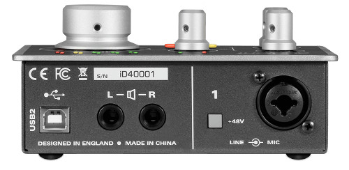 new audient id4 usb audio interface released for 199 masters of music. Black Bedroom Furniture Sets. Home Design Ideas