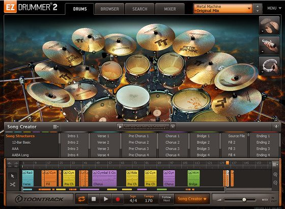 EZdrummer 2 Metal Machine