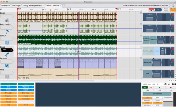 Free DAW: Tracktion T5 Now Free to Use, No Restrictions