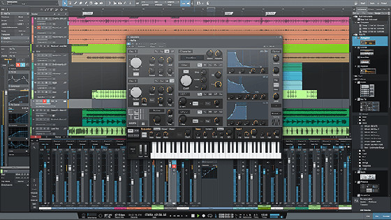 List of best daw software for recording editing and for Music studio design software