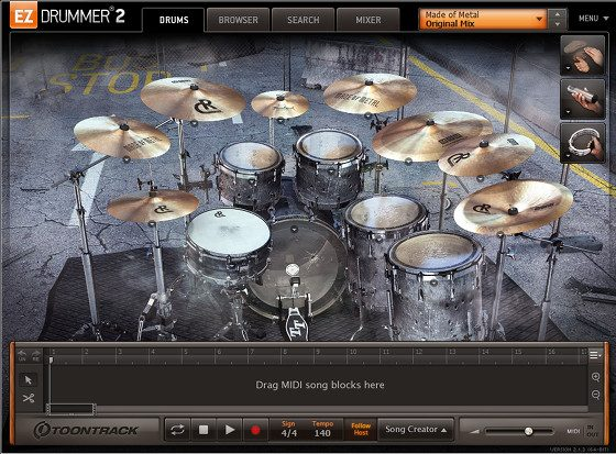 EZDrummer 2 Metal Drums Mixing Tips (Videos) | Masters of Music