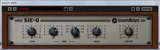 Soundtoys Sie-Q Equalizer