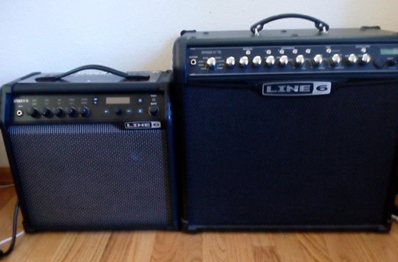 Line 6 Spider IV vs Spider V Amp Comparison Review | Masters