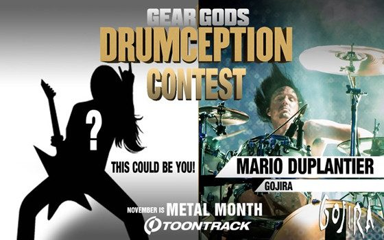 Toontrack Drumception Contest Entry