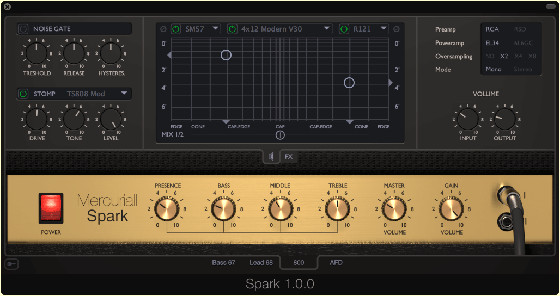 New Mercuriall Spark Amp Sim Released – Marshall Amps (Videos