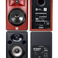 JBL LSR305 Studio Monitors vs Alesis Elevate 5