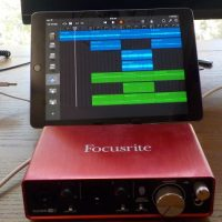 iPad Focusrite